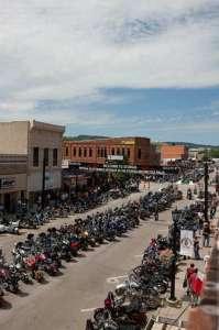 Sturgis Main Street (c) Sturgis Motorcycle Rally