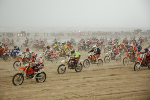 Le Touquet Enduropale Beach race start