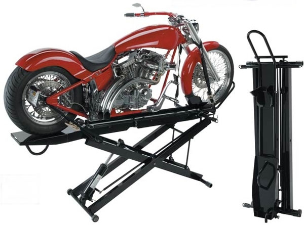 free plans to build a motorcycle lift