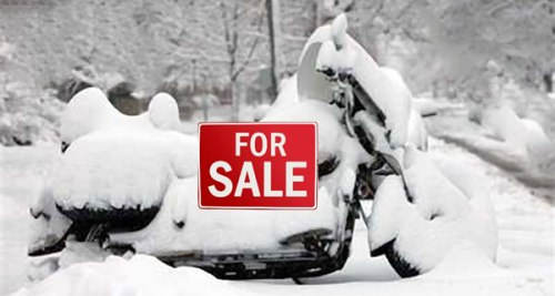 Snowed-In-Motorcycle for sale