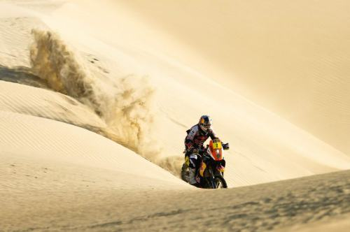 Cyril Depres in the 2012 Dakar