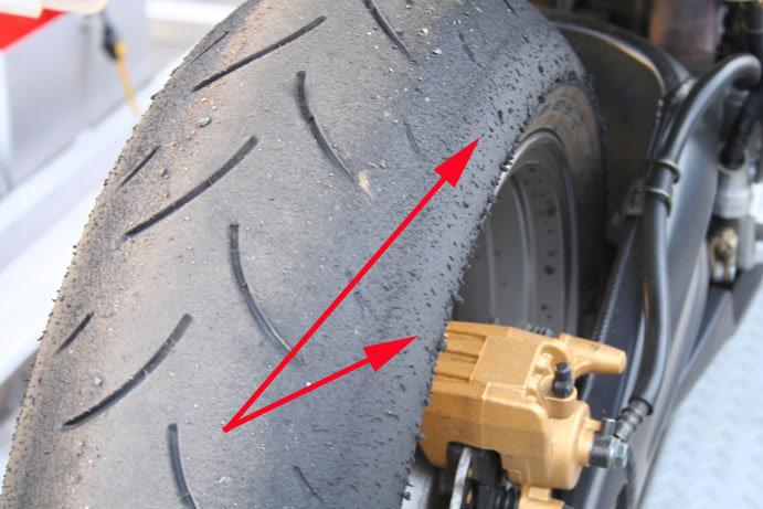 Tire wear?? - Page 2 - Honda Shadow Forums : Shadow Motorcycle Forum