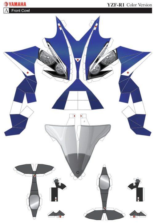 Paper-Yamaha-YZF-R1