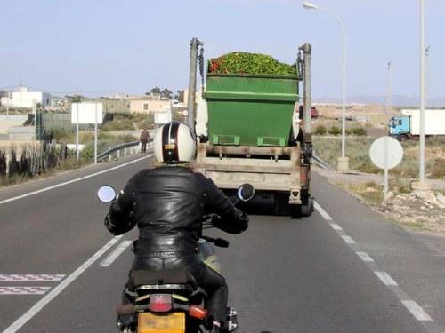 Behind-a-truck