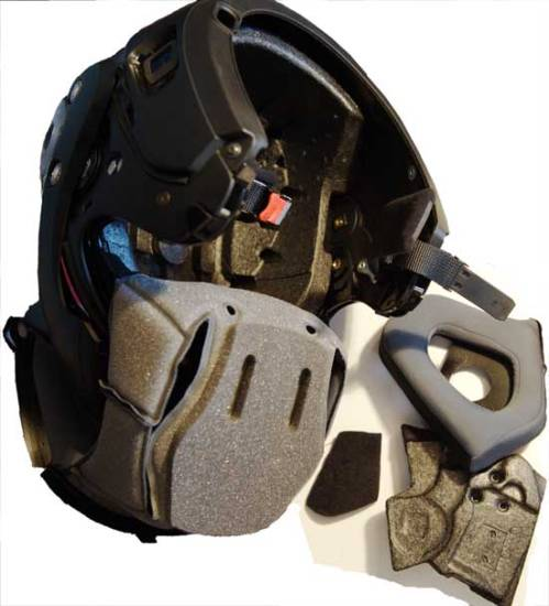 Helmet Inside