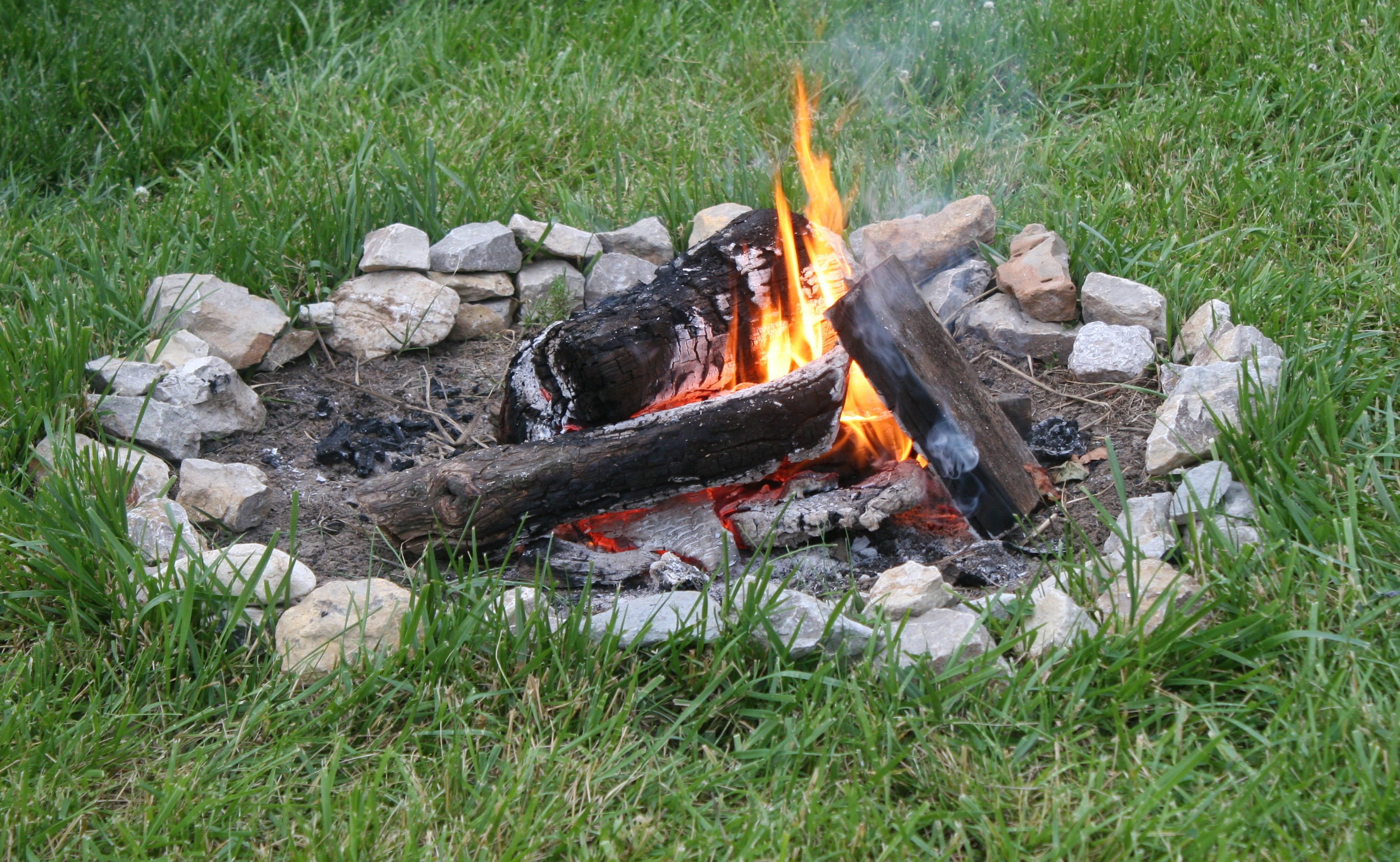 Camping On A Motorcycle And The Dangers Of Fires