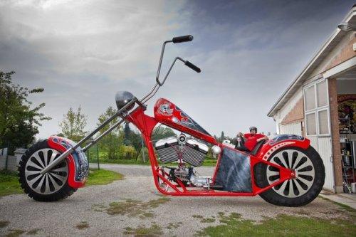 Fabio-Reggiani-Tallest-Rideable-Motorcycle