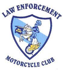 Lost Saints Law Enforcement Motorcycle Club  |Blue Black Motorcycle Club