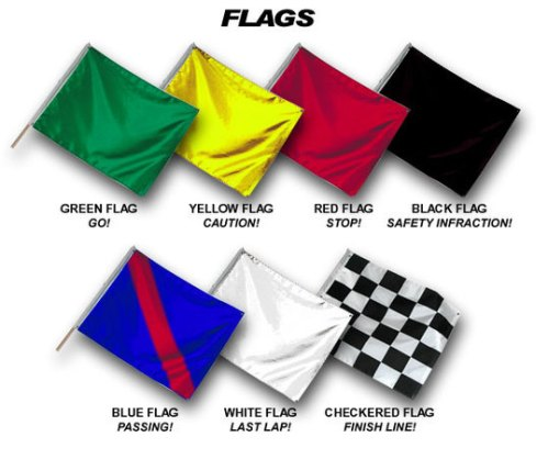 Trackday-flags