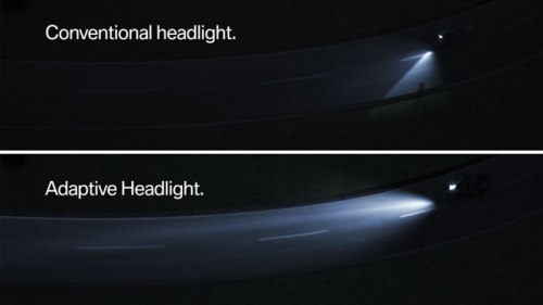 BMW Motorrad Adaptive Lights
