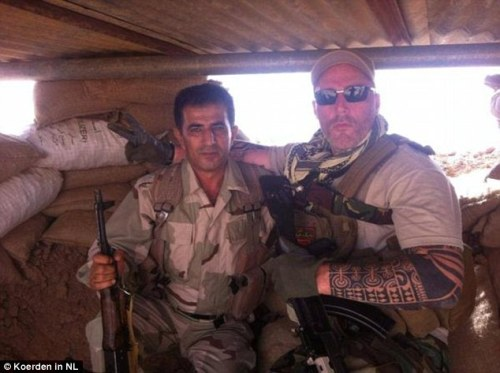 "Dutch ""No Surrender"" member Ron in Syria"
