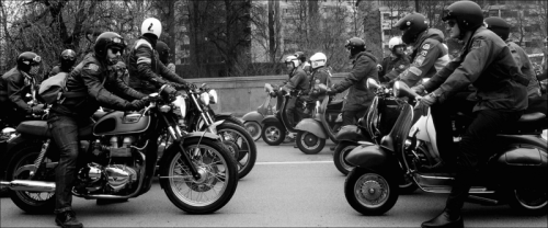 Motorcycles-scooters