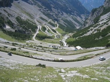 Dolomites-Stelvio-Pass