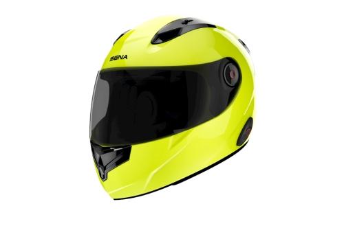 SENA noise-cancelling integral helmet
