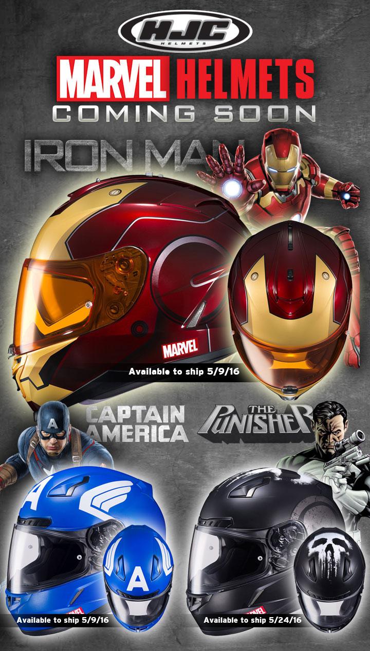 Superhero Motorcycle Helmets